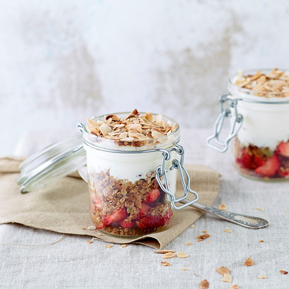 Granola de fruits au yaourt